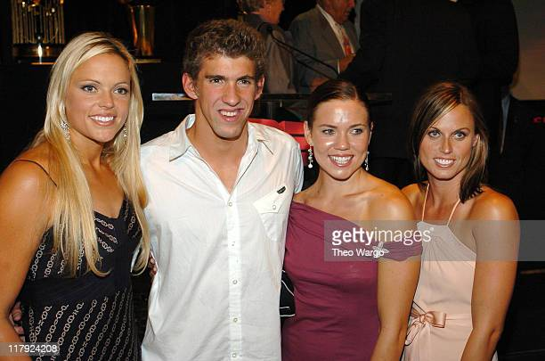 Jennie Finch Michael Phelps Natalie Coughlin and Amanda Beard