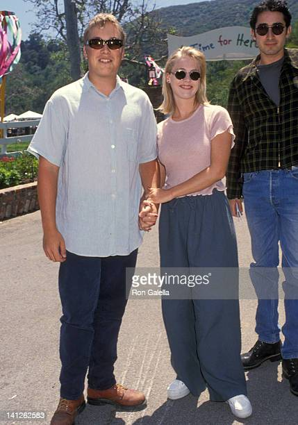 Jennie Garth and Daniel Clark at the 5th Annual A Time for Heroes Celebrity Carnival Benefit Elizabeth Glaser Pediatric AIDS Foundation Mandiville