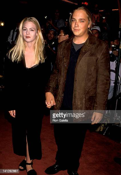 Jennie Garth and Daniel Clark at the Premiere of 'True Romance', Mann's Chinese Theatre, Hollywood.