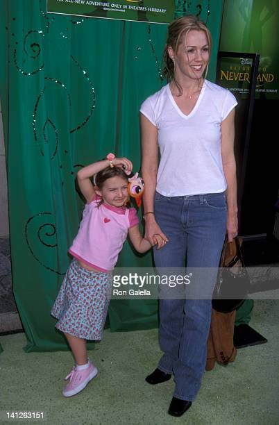 Jennie Garth and daughter Luca Bella Facinelli at the Premiere of 'Return to Neverland' El Capitan Theatre Hollywood