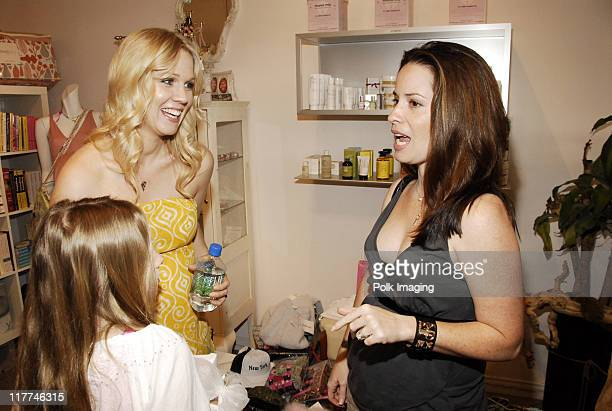 Jennie Garth and Holly Marie Combs during SoulMate Diamonds Jennie Garth Host A Mother's Day Benefit For The Children's Defense Fund at NOM May 11...