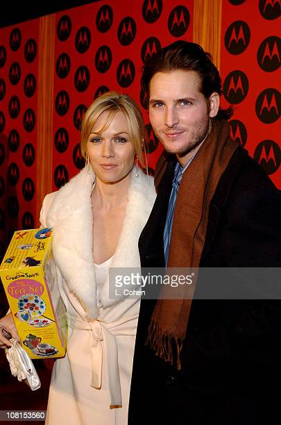 Jennie Garth and husband Peter Facinelli during Motorola's 6th Anniversary Party Benefiting Toys for Tots Red Carpet at The Music Box in Los Angeles...