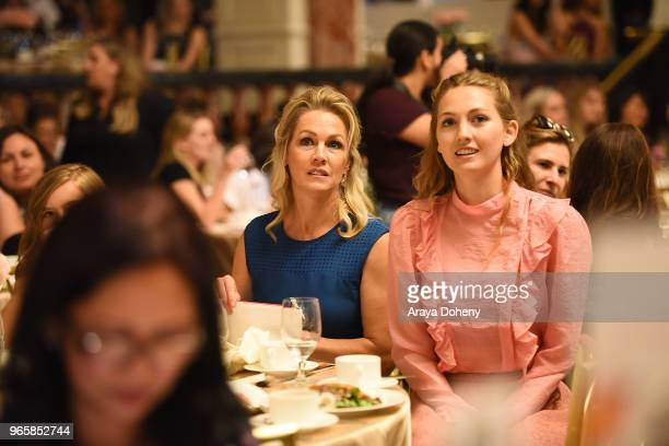Jennie Garth and Lola Ray Facinelli attend Step Up's 14th Annual Inspiration Awards at the Beverly Wilshire Four Seasons Hotel on June 1 2018 in...