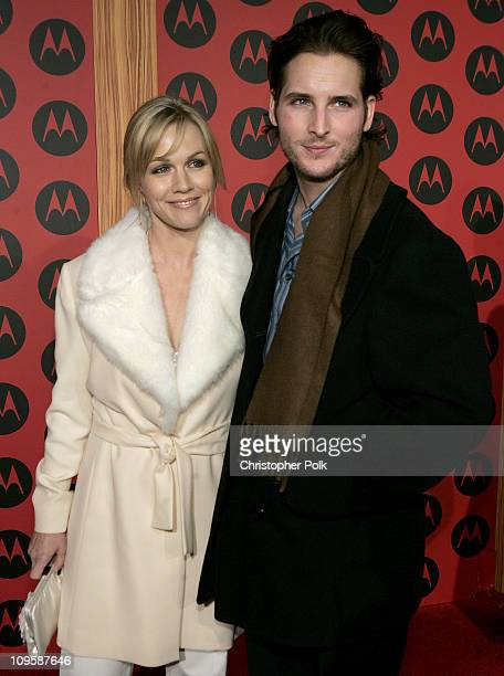 Jennie Garth and Peter Facinelli during LL Cool J Performs at the Motorola Sixth Anniversary Party to Benefit Toys for Tots Arrivals at Music Box...