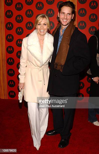Jennie Garth and Peter Facinelli during Motorola's 6th Anniversary Party Benefiting Toys for Tots Arrivals at Music Box Theatre in Hollywood...