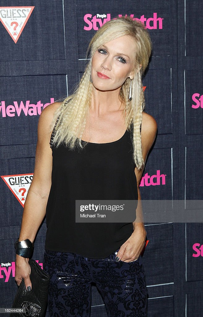 Jennie Garth arrives at the People StyleWatch Hollywood denim party held at Palihouse Holloway on September 20, 2012 in West Hollywood, California.