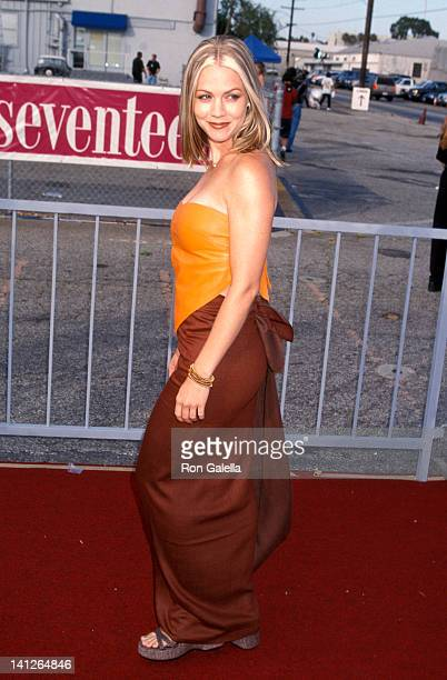 Jennie Garth at the 1st Annual Teen Choice Awards Santa Monica Barker Hanger Santa Monica