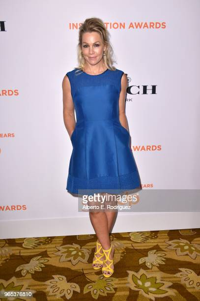 Jennie Garth attends Step Up's 14th annual Inspiration Awards at the Beverly Wilshire Four Seasons Hotel on June 1 2018 in Beverly Hills California