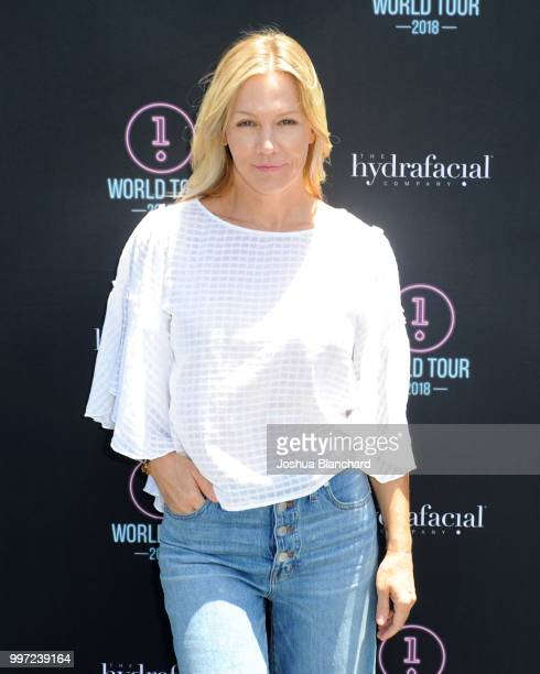 Jennie Garth attends the HydraFacial World Tour Los Angeles on July 12 2018 in Venice California