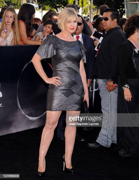 Jennie Garth attends 'The Twilight Saga Eclipse' Los Angeles Premiere at Nokia Theatre LA Live on June 24 2010 in Los Angeles California