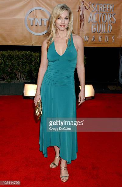 Jennie Garth during 11th Annual Screen Actors Guild Awards Arrivals at Shrine Auditorium in Los Angeles California United States