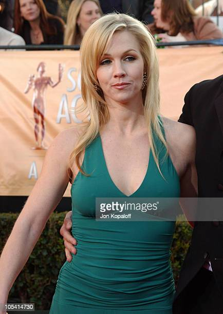 Jennie Garth during 2005 Screen Actors Guild Awards Arrivals at The Shrine in Los Angeles California United States