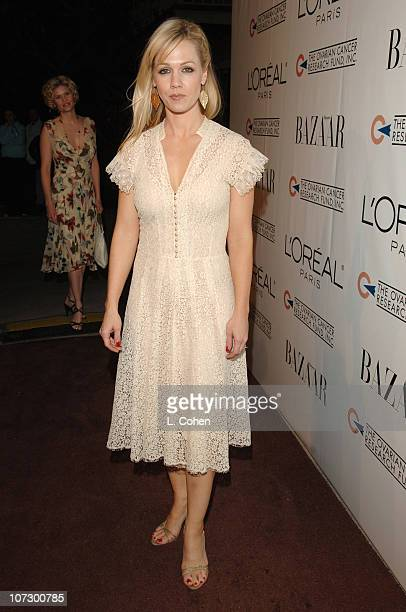 Jennie Garth during L'Oreal Paris Presents 'As Seen inHarper's Bazaar' to Benefit the Ovarian Cancer Research Fund Hosted by Eva Longoria and Milla...