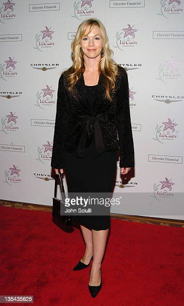 Jennie Garth during The Lili Claire Foundation's 7th Annual Benefit Gala Hosted by Matthew Perry Red Carpet at Century Plaza Hotel in Los Angeles...