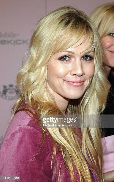 Jennie Garth during T-Mobile Limited Edition Sidekick II Launch - Arrivals at T-Mobile Sidekick II City in Los Angeles, California, United States.