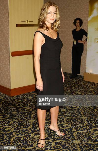 Jennie Garth during WB Television Network 2003 2004 Upfront Presentation at Sheraton Hotel in New York NY United States