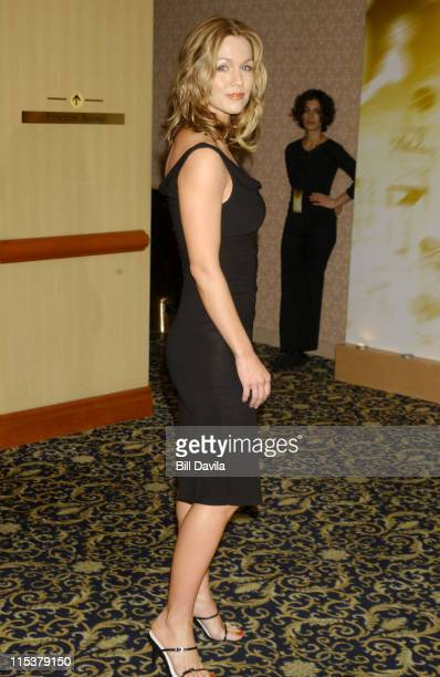 Jennie Garth during WB Television Network 2003 2004 Upfront Presentation at Sheraton Hotel in New York NY United States
