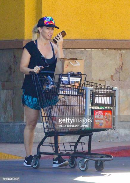 Jennie Garth is seen on October 24 2017 in Los Angeles California