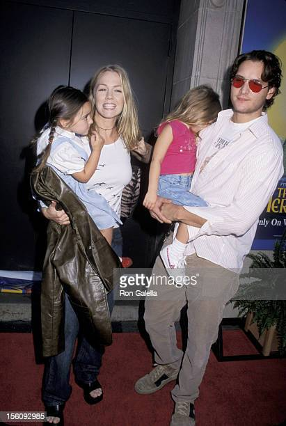Jennie Garth Peter Facinelli and daughters during 'The Little Mermaid II Return to the Sea' Los Angeles Premiere at El Capitan Theater in Hollywood...