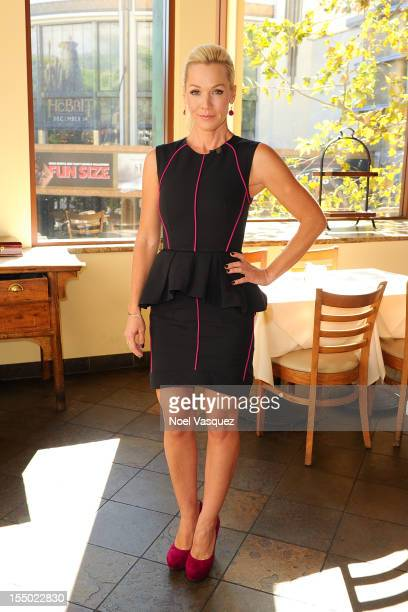Jennie Garth visits Extra at The Grove on October 30 2012 in Los Angeles California