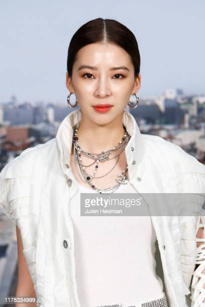 Jennie Kim attends the Chanel Womenswear Spring/Summer 2020 show as part of Paris Fashion Week on October 01 2019 in Paris France