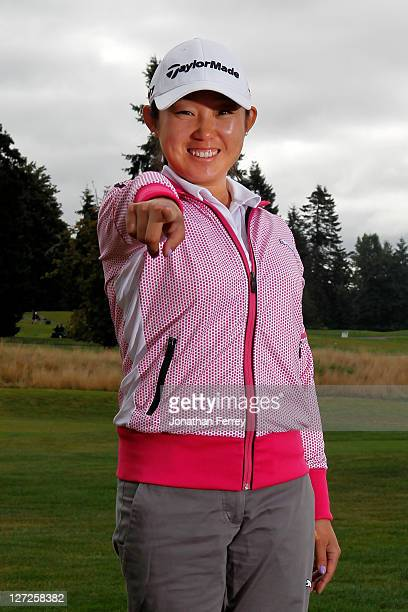 Jennie Lee poses for a portrait during the Safeway Classic at Pumpkin Ridge Golf Club on August 18 2011 in North Plains Oregon