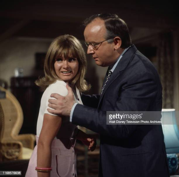 Jennie Linden Harold Innocent appearing in the ABC tv series 'The Persuaders' episode 'To the Death Baby'