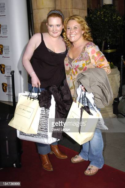 Jennie McAlpine and Wendy Peters during British Academy Television Awards Nominees Party April 20 2006 at The Landmark London Hotel in London Great...
