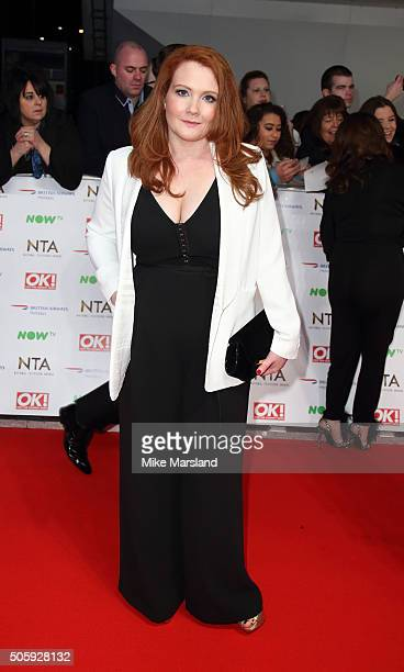 Jennie McAlpine attends the 21st National Television Awards at The O2 Arena on January 20 2016 in London England