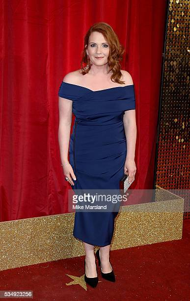 Jennie McAlpine attends the British Soap Awards 2016 at Hackney Empire on May 28 2016 in London England