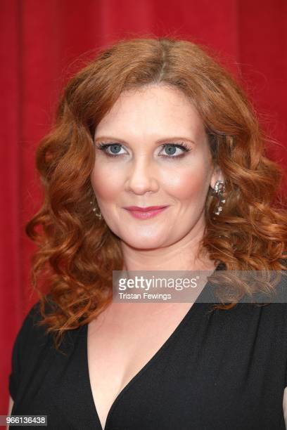 Jennie McAlpine attends the British Soap Awards 2018 at Hackney Empire on June 2 2018 in London England