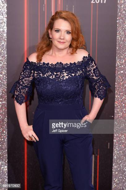 Jennie McAlpine attends The British Soap Awards at The Lowry Theatre on June 3 2017 in Manchester England The Soap Awards will be aired on June 6 on...