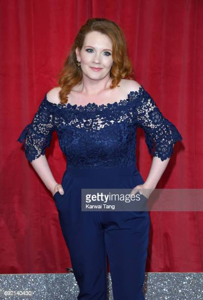 Jennie McAlpine attends the British Soap Awards at The Lowry Theatre on June 3 2017 in Manchester England
