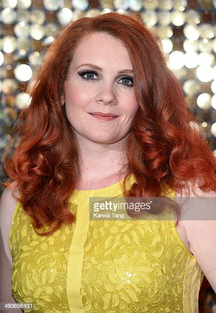 Jennie McAlpine attends the British Soap Awards held at the Hackney Empire on May 24 2014 in London England