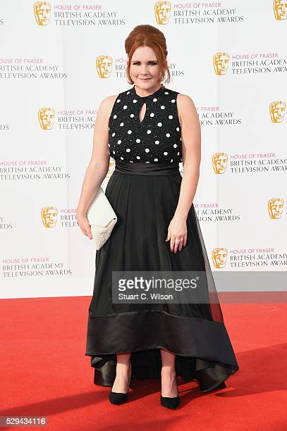 Jennie McAlpine attends the House Of Fraser British Academy Television Awards 2016 at the Royal Festival Hall on May 8 2016 in London England