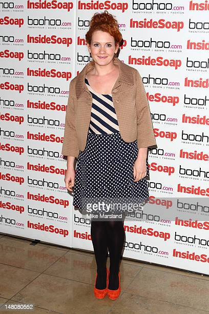 Jennie McAlpine attends the launch of Inside Soap Awards at Rosso on July 9 2012 in Manchester England