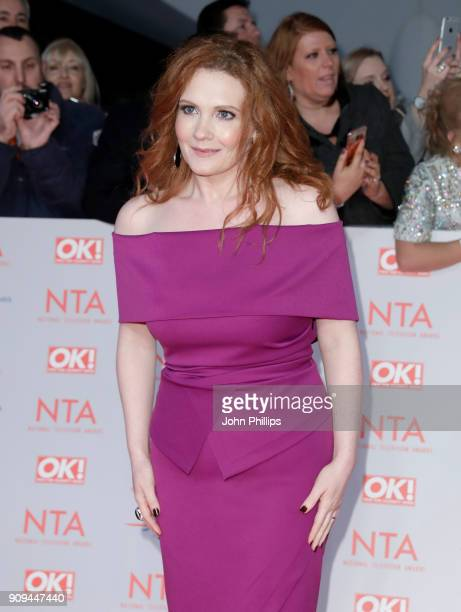 Jennie McAlpine attends the National Television Awards 2018 at the O2 Arena on January 23 2018 in London England