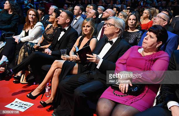 Jennie McAlpine Kym Marsh Anthony Cotton Tina O'Brien and Bill Roache at the 21st National Television Awards at The O2 Arena on January 20 2016 in...
