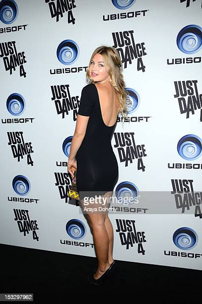 Jennifer Ackerman attends The Launch Of Just Dance 4 presented by Ubisoft at Lexington Social House on October 2 2012 in Hollywood California