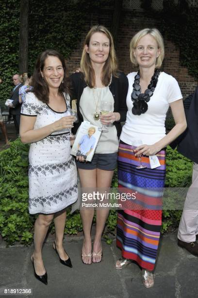 Jennifer Adams Amanda Benchley and Barbara McLaughlin attend Book Party hosted by J McLaughlin Celebrating All Things At Once by Mika Brzezinski at...