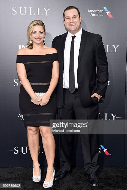 Jennifer Adler and Max Adler attend the Sully New York Premiere at Alice Tully Hall on September 6 2016 in New York City