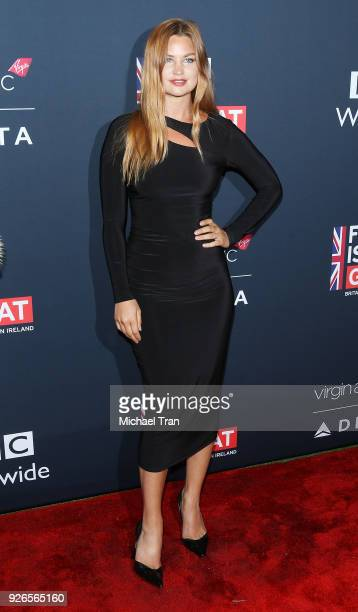 Jennifer Akerman arrives to the Film Is GREAT Reception honoring British nominees of The 90th Annual Academy Awards held at The British Residence on...