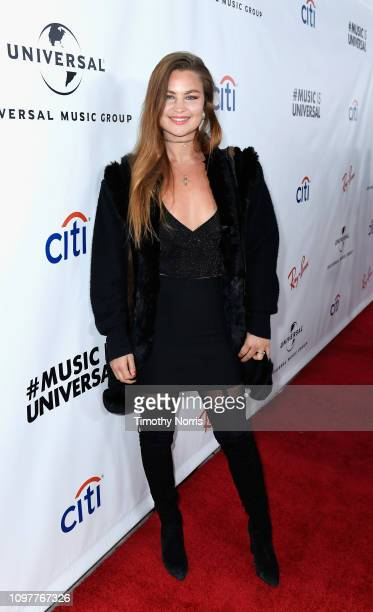 Jennifer Akerman attends Universal Music Group's 2019 After Party Presented by Citi Celebrates The 61st Annual Grammy Awards on February 9 2019 in...