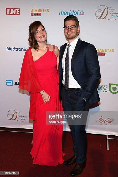 Jennifer and Julien Fuchsberger attend the 6th Diabetes Charity Gala at TIPI am Kanzleramt on October 20 2016 in Berlin Germany