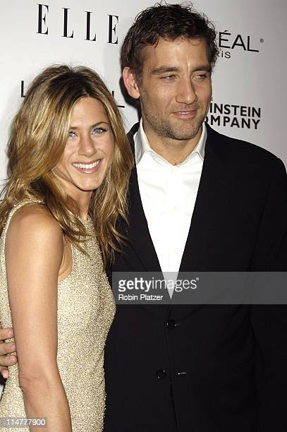 Jennifer Aniston and Clive Owen during Derailed New York City Premiere at Loews Theatre Lincoln Square in New York City New York United States