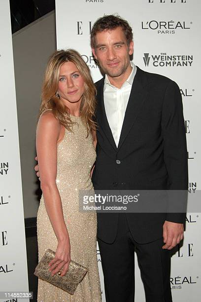 Jennifer Aniston and Clive Owen during Derailed New York City Premiere Presented by L'Oreal and ELLE Magazine at Loews Theatre Lincoln Square in New...