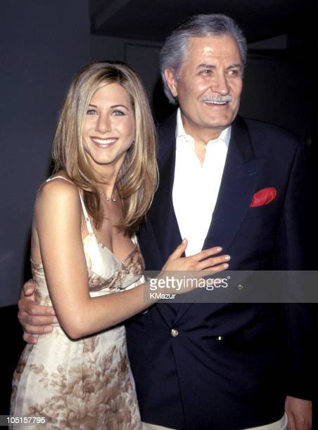 Jennifer Aniston and John Aniston during Picture Perfect New York Premiere at Lincoln Square in New York City New York United States