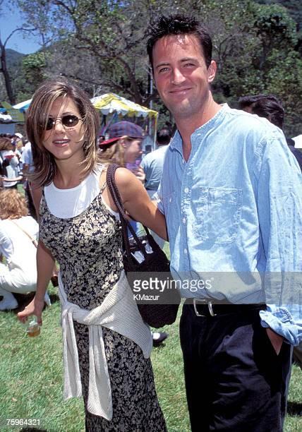Jennifer Aniston and Mathew Perry