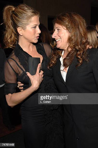 Jennifer Aniston and Nicole Holofcener at the The Egyptian Theatre in Los Angeles California