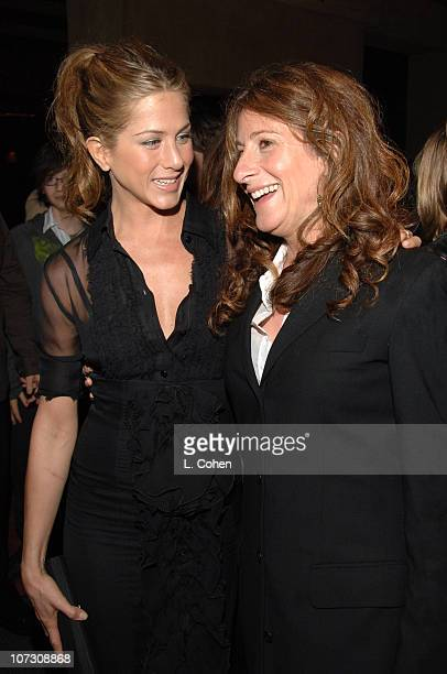 Jennifer Aniston and Nicole Holofcener during Friends With Money Los Angeles Premiere Red Carpet at The Egyptian Theatre in Los Angeles California...